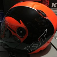 harga Helm Full Face KYT Xrocket / x rocket ornage stabilo hitam Tokopedia.com