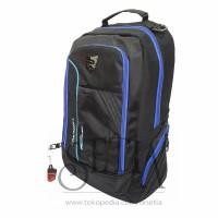 Tas Daypack Merk PALAZZO 35497 With Raincover Ransel Sekolah