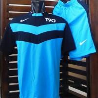 harga Jersey futsal nike T90, kaos olahraga, stelan bola, baju running Tokopedia.com