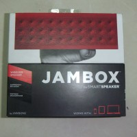 Jawbone Jambox Red Dot Bluetooth Wireless Multimedia Speaker