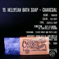 Hellyeah Natural Soap Bar - Charcoal