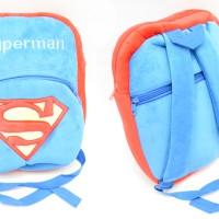 School Bag - Tas Sekolah - Superman Doraemon Monster Inc Minion Batman