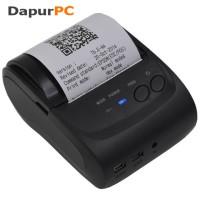 Mini Portable Bluetooth Thermal Receipt Printer [Zjiang ZJ-5802]