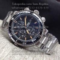 Jam Tangan Oris Chronograph Black Ref.#0719-