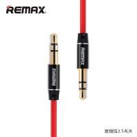 Remax Premium AUX Cable3.5mm 1Meter Headphone Speaker Smartphone-red