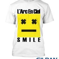 KAOS LARC EN CIEL - SMILE TSHIRT GILDAN SOFTSTYLE