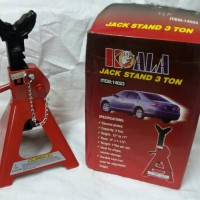 harga KOALA Jack stand 3 ton (1 set=2pc) Tokopedia.com