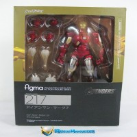 Max Factory figma Iron Man Mark 7 Avengers Age of Ultron Action Figure