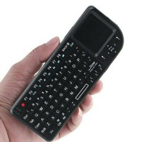 Jual Keyboard wireless multifungsi with touchpad+laser pointer Murah