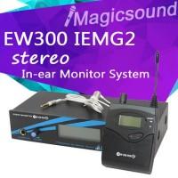 microphone Pro Ear Monitor Sennheiser Ew 300 G2