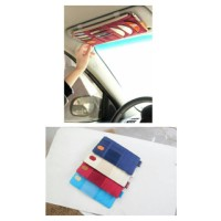 harga Tempat CD Tissue Tisue Kartu Brosur Sunvisor Car Organizer MOBIL Tokopedia.com