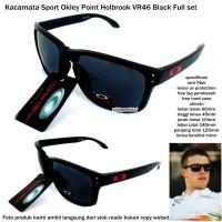 Kacamata sport okley point holbrook VR46-black