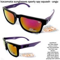 Kacamata/ sunglasses/ eyewear sporty  spy squash-ungu