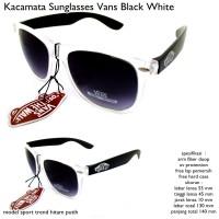 Kacamata/sunglasses/eyewear van male black white fullset