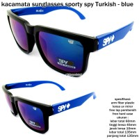 Kacamata/ sunglasses/ eyewear sporty  spy turkish-blue