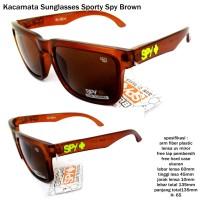 Kacamata/ sunglasses/ eyewear sporty  spy brown