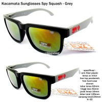 Kacamata/ sunglasses/ eyewear sporty  spy squash-grey