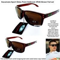 Kacamata sport okley point holbrook VR46-brown
