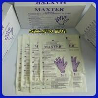 Sarung Tangan Steril Maxter Sterile Surgical Gloves No.6,5 ( Eceran )