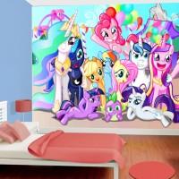 Jual Wallpaper Dinding Custom Motif Cartoon Little Pony Kota Bekasi Butik Wallpaper Bekasi Tokopedia
