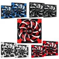 AEROCOOL 14cm DS FAN (Blue, Red, Black, White)