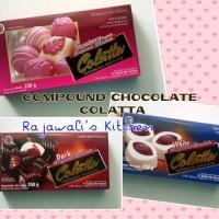 Dark Compound Chocolate DCC/ Coklat Compound Merk Colatta 200 gram