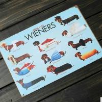 Koleksi Pajangan Anjing Dog Wall Plaque Decor Home