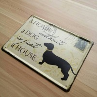 Koleksi Pajangan Anjing Dog Art Wall Plaque Decor Home
