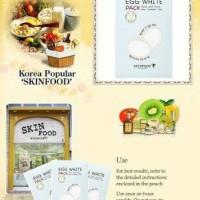 Skinfood Peel Off Egg White 10pc / Pack