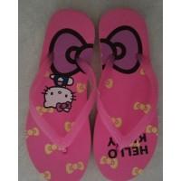 Sandal Jepit Spon Karakter Gambar Hello Kitty Size 38 Bagus Murah