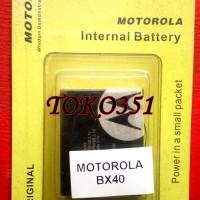 Baterai Motorola BX40 BX 40 Motorola RAZR2 V9 V9M V8 V9X