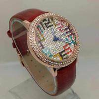 Jam Tangan Wanita Chopard Leather Full Diamond Num TXIB