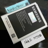 Baterai Battery Batre Samsung Galaxy Note 2 / N7100 Original 100%