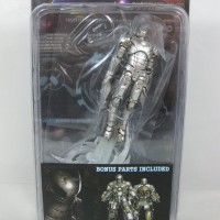 Iron man mark III Sonic Jet silver scale 1:20