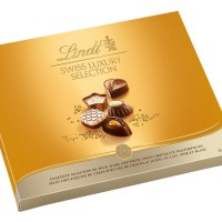 Lindt Swiss Luxury Selection Chocolate Coklat Cokelat Gift Box Import