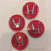 harga Dop Velg Mobil Honda Warna Merah utk Jazz,Mobilio,Brio dia.5,8cm Tokopedia.com
