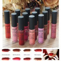 Jual NYX Soft Matte Lip Cream 12 Colors / Paketan Lipstik NYX Murah