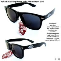 Kacamata/sunglasses/eyewear vans male  full set black-blue