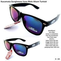 Kacamata/sunglasses/eyewear vans male  full set black-turkish