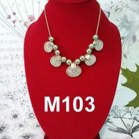 Fashion aksesoris perhiasan kalung wanita korea etnik import 257