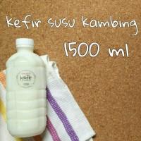 harga KEFIR SUSU KAMBING 1500ML Tokopedia.com