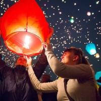 Jual Skylantern   Sky lantern   Lampion terbang murah   grosir Murah