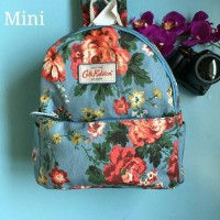floral flower cath kidston backpack mini bag ransel korea ori