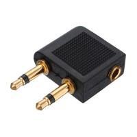 harga Adaptor Converter Konektor Audio Headphone Untuk Pesawat Terbang Tokopedia.com