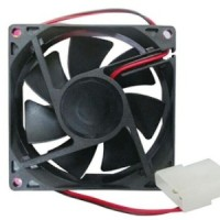 Fan Kipas Casing CPU Komputer Power Supply 8 Cm Black 8Cm Hitam