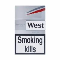 Rokok West Silver