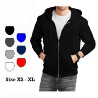 Jual Basic Zipper Hoodie Jacket Murah