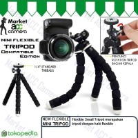 Tripod Mini Flexible Small (Fleksibel) For DSLR/SLR, Camera Digital