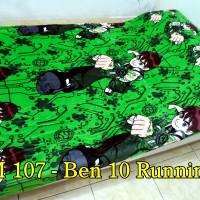 harga Selimut Bulu Import uk 140x200 M 107 - Ben 10 Running Tokopedia.com