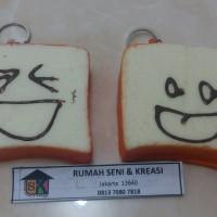 Squishy Medium Face Toast Bread